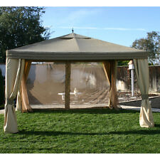 Garden Winds 10 x 12 Arrow Gazebo Replacement Canopy and Netting