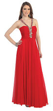 Plus Size Prom Dress Bridesmaids Formal Gown