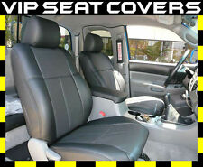 Toyota Tacoma Access Cab (2005+) Clazzio Leather Seat Covers, Front Seats Only