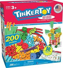 Tinkertoy TINKERTOY 30 Model Super Building Set - 200 Pieces - For Ages 3+