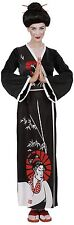 Ladies Geisha Costume Medium UK 10-12 for Oriental Chinese Fancy Dress