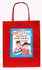 PERSONALISED TOPSY & AND TIM Party Gift Bags Birthday hen stag