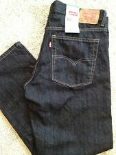 Levis 505 Jeans Black Boys 10 16 Husky Regular Straight Fit NWT Retail 40.00