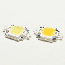10 PCS 10W Cool/Warm White High Power 30Mil SMD Led Chip Flood Light Bead EFS
