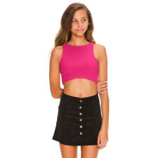 Ava And Ever Girls Damini Crop Top in Pink