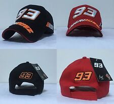 2016 MOTO GP Marc Marquez 93 baseball Cap hat Motorcycle Racing 3D adjustable