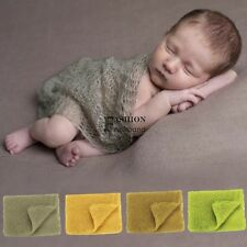Newborn Baby Stretch Textured Knit Wrap Cocoon Photo Photography Prop  FNHB