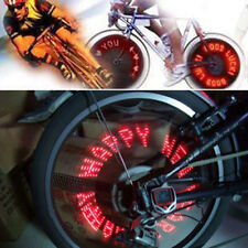 5/7 LED Cycling Bike Bicycle Tire Wheele/Letter Spoke Flash Light Set KG