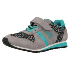 Girls Cica by Clarks Funky Printed Trainers Super Go