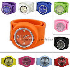 Unisex Silicone Wristwatch Slap Strong Watch Very Easy Sports Bracelet All Sizes