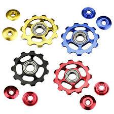 11Tooth MTB Ceramic Bearings Jockey Wheel Pulley Road Bicycle Bike Derailleur B