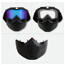 Motocycle Motocross Ski Snow Snowboard Dirt Bike Off Road Goggles Glasses Hot