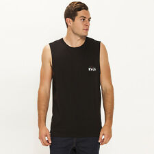 New RVCA Misery Loves Company Muscle Tank in Black | Mens Mens Singlets