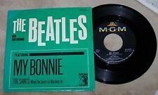 1964 THE BEATLES ~My Bonnie/The Saints~ MGM PICTURE SLEEVE & 45 rpm RECORD