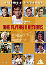Flying Doctors COMPLETE SERIES 6 RARE 4 DISC (UK RELEASE) DVD