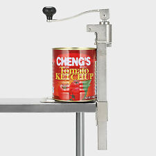 Commercial  Heavy Duty Catering Tin Can Opener Large Kitchen Bench Clamp Mount