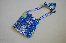 Vera Bradley Large Hipster Crossbody in Blue Bayou