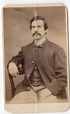 Civil War CDV of an unidentified Union Soldier from Portland Maine