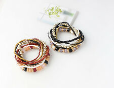 1PC Beaded Bracelet European and American Bohemian Hot Fashion National Wind