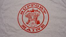 HELLS ANGELS CANAAN MAINE SUPPORT GRAY ENGINE T
