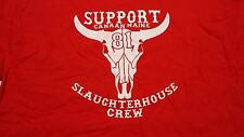 HELLS ANGELS SUPPORT COW SKULL T
