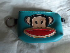 PAUL FRANK - MONKEY COIN PURSE WITH KEY RING ATTACHMENT