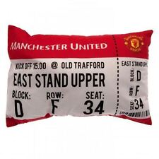 Manchester United FC Match Day Cushion Football Soccer EPL Pillow