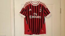 Boys AC MILAN Football Shirt Age 9-10 Years