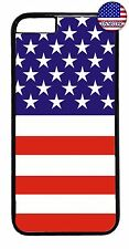 For Apple iPhone 7 8 plus American USA Flag New Back Case Slim Cover