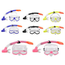 Adult Snorkel Combo Mask And Snorkel Snorkeling Set for Diving Swimming