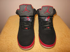 Beautiful Boy's Black / Red High Top NIKE Air # 23 Sneakers Size 7 Y