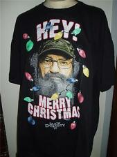 New DUCK DYNASTY COMMANDER HEY MERRY CHRISTMAS T SHIRT ROBERTSONS