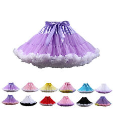STON Sexy Ladies Women's Petticoat Layered Ballet Dance Pettiskirt Mini skirt