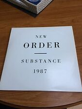 NEW ORDER RARE SUBSTANCE DOUBLE LP RECORD NEW ORDER JOY DIVISIONS