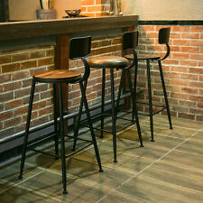 INDUSTRIAL VINTAGE RETRO RUSTIC URBAN STYLE METAL RESTAURAN BAR STOOL CAFE CHAIR