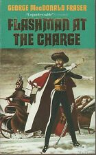 George MacDonald Fraser - FLASHMAN AT THE CHARGE - standard p/b, Barbosa cover