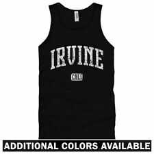Irvine California Unisex Tank Top - Men Women XS-2X  Gift 949 UCI University of