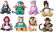 Baby Halloween Costumes Boy Girl Warm Infant Monkey Count Dragon Hippo Penguin