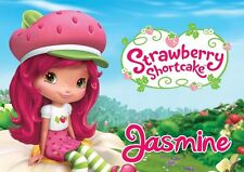 Strawberry Shortcake Personalised Placemat (A4 Size Photo Laminate) great gift