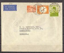 INDONESIA, airmail letter, Indonesia-Denmark.