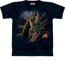 The Mountain Tee THE CRUSADE Dragon Fire Artwear Unisex T-Shirt Art To Wear NWT