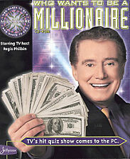 Who Wants To Be A Millionaire? Quiz Game PC CD-ROM NEW SEALED