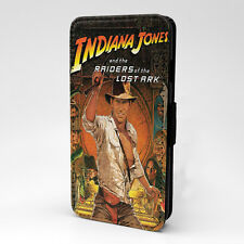 Movie Poster Indiana Jones Flip Case Cover For Samsung Galaxy - A1277