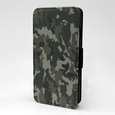 Black White Camoflage Flip Case Cover For Samsung Galaxy - G1254