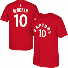 Toronto Raptors DeMar DeRozan NBA Name & Number T-Shirt - Red