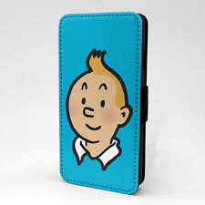 Tintin Flip Case Cover For Samsung Galaxy - T1237