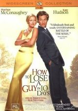 How To Lose A Guy In 10 Days - Matthew McConaughey, Kate Hudson DVD # 0002