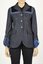 Miu Miu Jacket -25% Woman Blues GWG0871L8JF0008-