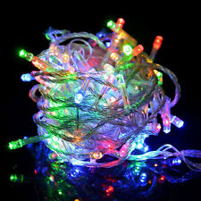 10M 100 LED String Light for Christmas Wedding Party Decor Multi Colors Outdoor