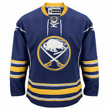 Buffalo Sabres Reebok EDGE Authentic Home NHL Hockey Jersey (Made in Canada)